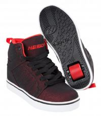 Heelys Uptown - Black-Red Super Mesh